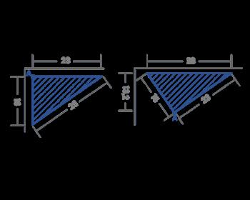 Profile type T3 flexible